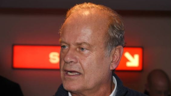 Kelsey Grammer, who played Frasier Crane in the famed TV series. File photograph: Getty Images