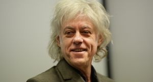 Bob Geldof: I don't think the Easter Rising is the foundational moment of the State. Photograph: Cyril Byrne/The Irish Times