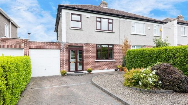 Number 24 Barton Road East, on sale for for €575,000