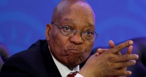 Jacob Zuma has been South Africa's president since 2009. File photograph: Siphiwe Sibeko/Reuters