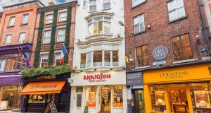 The Nourish building on Wicklow Street has a guide price of €2.4m.
