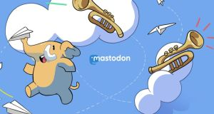 Mastodon: it looks and behaves a bit like Twitter