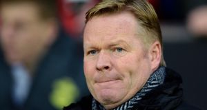 Ronald  Koeman has been named as the new coach of the Dutch national soccer team.   Photograph: Peter Powell/EPA