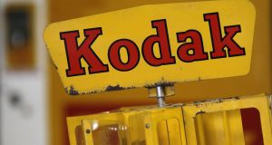 "The 130-year-old Kodak company said last week that verifying the ""accredited"" status of potential investors for the digital KodakCoin token could take several weeks. Photograph: Stefan Wermuth/Reuters"