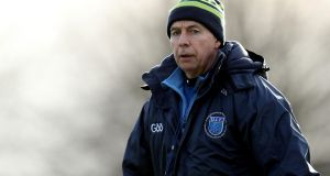 DIT manager Billy O'Loughlin's side proved too strong for an outclassed IT Tralee. Photograph: Oisín Keniry/Inpho