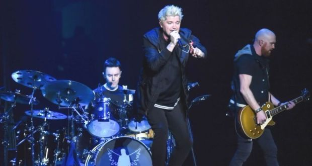 The Script Performing At The Sse Arena Belfast On Tuesday Night Photograph