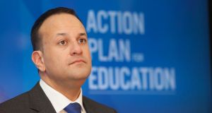 Taoiseach Leo Varadkar: December agreement contains 'black and white' commitments and guarantees. Photograph: Gareth Chaney Collins