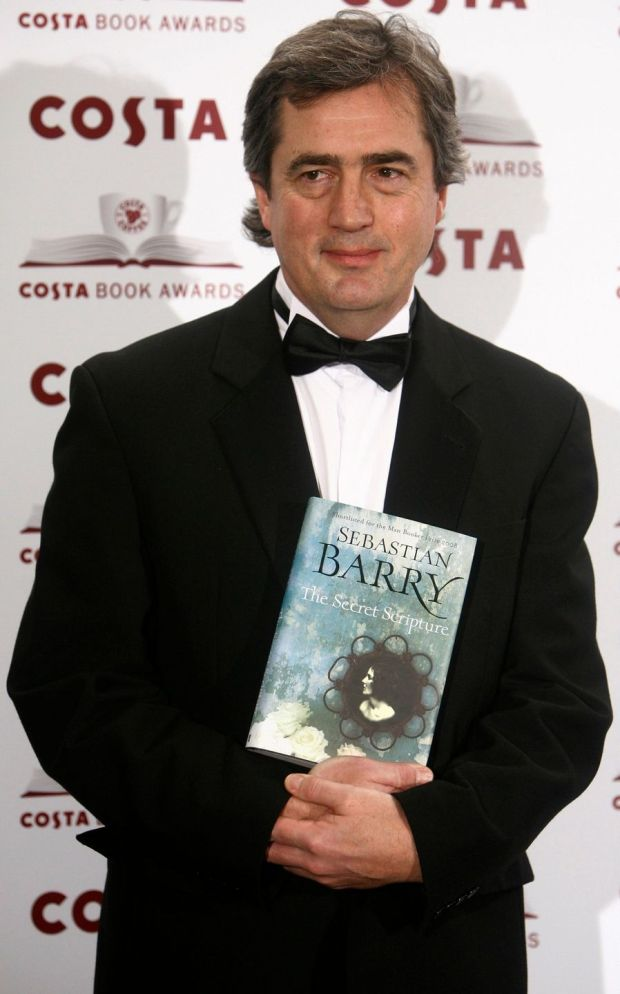 Sebastian Barry at the 2009 Costa Book Awards in London. Photograph: Luke MacGregor/Reuters