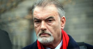 Ian Bailey last week criticised the Department of Justice after learning that it had never passed on a request from investigating French magistrate Judge Patrick Gachon in February 2013 to arrange an interview with him. Photograph: Eric Luke
