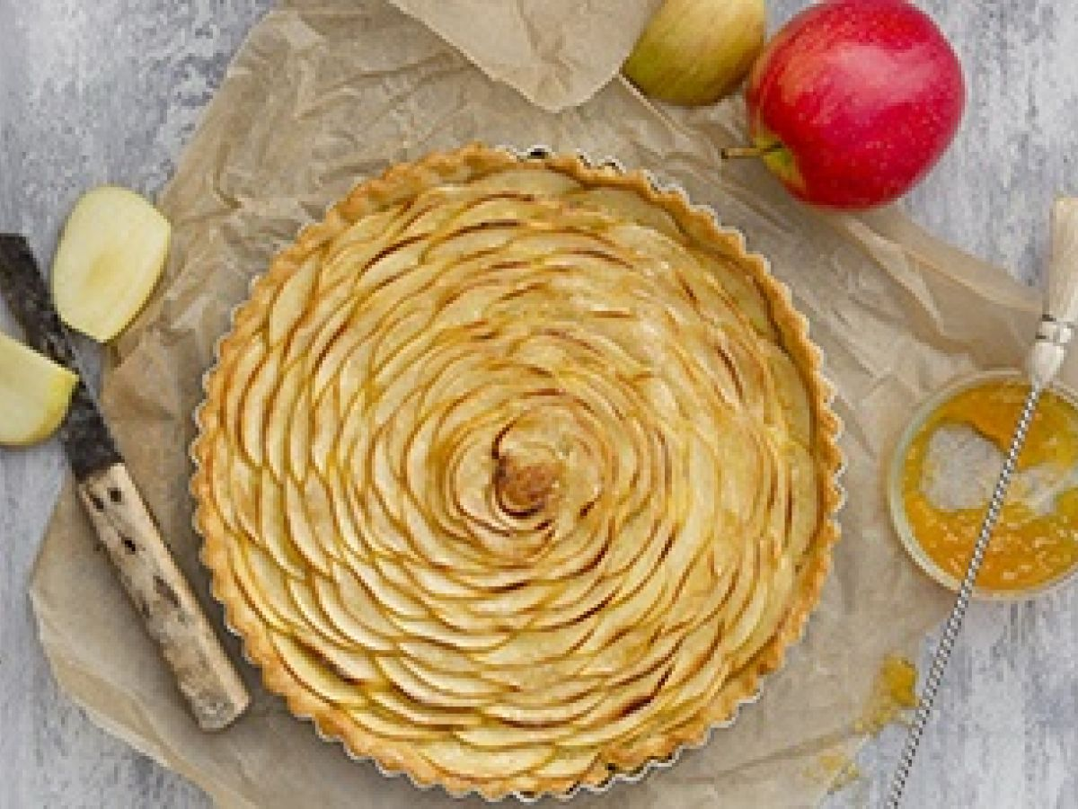 French Apple Tart A Quick Pastry Cheat Tip
