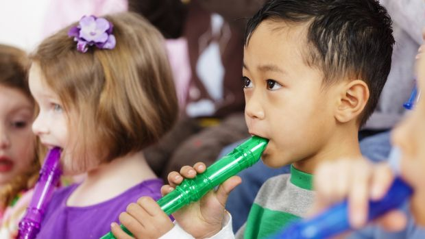 The recorder: Cheap and durable as a starter wind instrument but struggles to rise above its association with less than tuneful recitals. Photograph: Getty