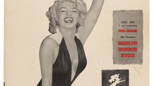 Marilyn Monroe on the cover of Playboy in 1953, estimate of £3,000-£5,000