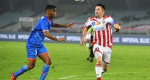 Robbie Keane in action for the Indian Super League club ATK. Photograph: Getty Images