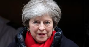"Britain's prime minister Theresa May: ""The United Kingdom is leaving the European Union. That means we are leaving the single market and the customs union."" Photograph: AFP"