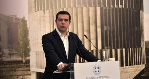 Greek prime minister Alexis Tsipras: has set his sights on a clean bailout exit, without a backstop or precautionary credit line. Photograph: Getty Images