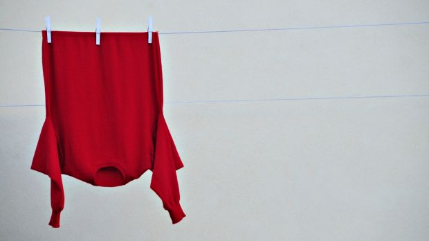 Drying clothes indoors can lead to a condensation problem. A drying jumper can hold up to a litre of water. Photograph: Getty