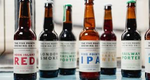 While some breweries have a different beer out every other week, Five Points has focused mainly on their core range. Photograph: www.marknewtonphotography.co.uk