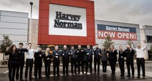 "Harvey Norman: ""We want our people to be people and to express who they are through their work. You're not going to get magic if your staff is straitjacketed in procedures and processes,"" says chief executive Blaine Callard. Photograph: Joe Keogh"