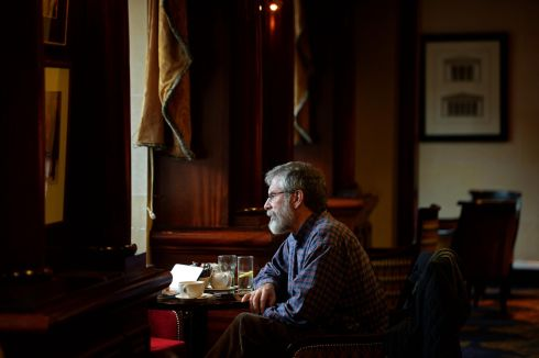 Gerry Adams Sinn Fein , 2015.  Photograph: Eric Luke / The Irish Times