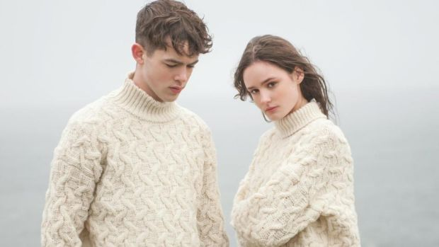 New takes on the Aran sweater for men and women from McConnells, a new brand based in Clonlara, Co Clare. www.mcconnellwoollenmills.ie