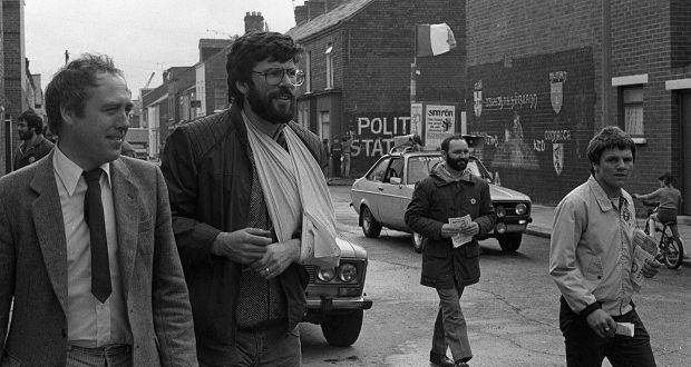 Gerry Adams was crucial in per...