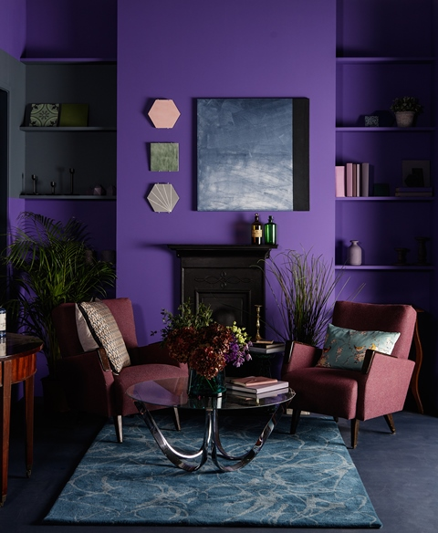 Pantone Ultraviolet is set to influence this year's design trends
