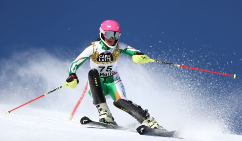 Tess Arbez <br> Previously selected as part of Team Ireland in the 2017 Alpine World Championships in St Moritz, where she came through both qualifying races in Giant Slalom and Slalom to compete in the championship races, finishing 52nd in Slalom and 59th in Giant Slalom. Her grandfather hails from Carlow, the Irish connection being on her mother's side, while her father wa a French-Italian skier. She now mostly trains with Orsatus, a team with several international racers based in Brides les Bains. Also finished 20th in the Giant Slalom at the Winter European Youth Olympic Festival in 2015 in Liechtenstein, where she was the flag-bearer  <br>First in action: Monday, 12 February