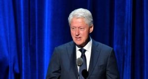 Bill Clinton:  British diplomat Jonathan Powell conceded years later that the president's  decision to grant Adams a visa-waiver in 1994 was the right thing to do. Photograph: Getty Images