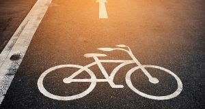 'It will in time connect to a more extensive cycling network'. Photograph: istock