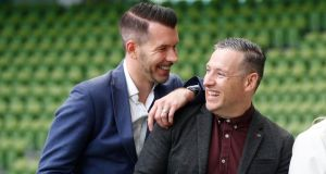 Niall McGrath and Tom Gannon, co-founders of Fulfil Nutrition. The company is backed by Barry Connolly's Richmond Marketing.  Photograph: Conor McCabe