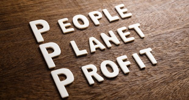 It is about, what sustainability expert John Elkington coined, the triple bottom line of people, planet and profit. Photograph: iStock