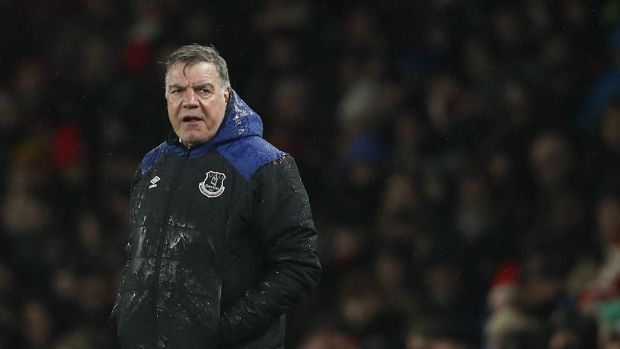 Everton boss Sam Allardyce lost his job as England manager after a newspaper sting. Photograph: Adrian Dennis/AFP