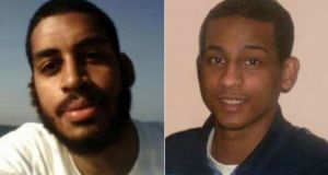 Alexanda Kotey (left) and El Shafee Elsheikh: were part of group allegedly responsible for murdering approximately two dozen hostages in Syria.