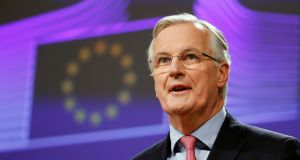 "European Union's chief Brexit negotiator Michel Barnier said London had ""substantial"" objections to the EU's transition offer and that parts of it were not up for negotiation. Photograph: Reuters"