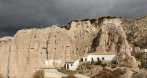Andalusia, Spain: In the cave village of Bacor, inland from Almeria, price: €75,000