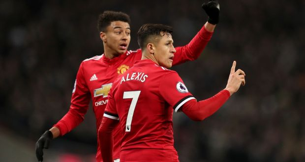 e92675725 Manchester United s Jesse Lingard (left) will hope to continue his upward  trajectory despite the