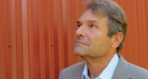 Author Denis Johnson. Photograph: Cindy Johnson