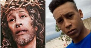 Superimposed Christ image and Daniel Serrano: a court in Jaén ordered  Mr Serrano to pay €480 for committing a crime against religious feelings.