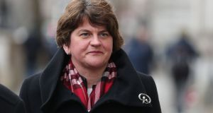 Well-placed talks sources said good progress was achieved after a week of high-level DUP-Sinn Féin negotiations at Stormont. DUP leader Arlene Foster is pictued. Photograph: Daniel Leal-Olivas/AFP/Getty Images