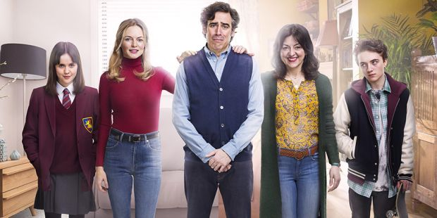 Bliss stars Stephen Mangan, Heather Graham and Jo Hartley