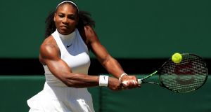 "Serena Williams: ""I'm ready and really excited"". Photograph:  Adam Davy/PA Wire"