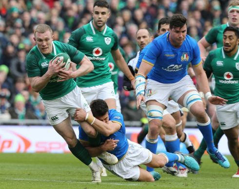 <b>14. Keith Earls </b>He was typically sharp in scoring his 26th try for his country, adding value every time he touched the ball in another excellent outing; saved a try too with a superb chase back to collar Bellini. Rating: 8  Photograph: Irish Times
