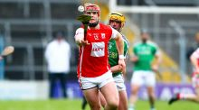 Cuala's David Treacy and Kevin Lee of Liam Mellows in action in Thurles. Photograph: Ken Sutton/Inpho