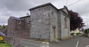 James McCarney (40), of  Branzeit, Balmore, Glasgow, was charged with assault and resisting Garda Willie O'Donoghue in the execution of his duty at Macroom District Court (above) on February 7th, and with attempting to escape from Garda custody at Macroom District Court on the same date. File photograph: Google Street View