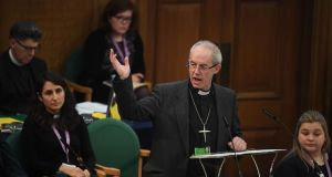 The ruling body of the Church of England voted unanimously in favour of the motion. Photograph: Victoria Jones/PA