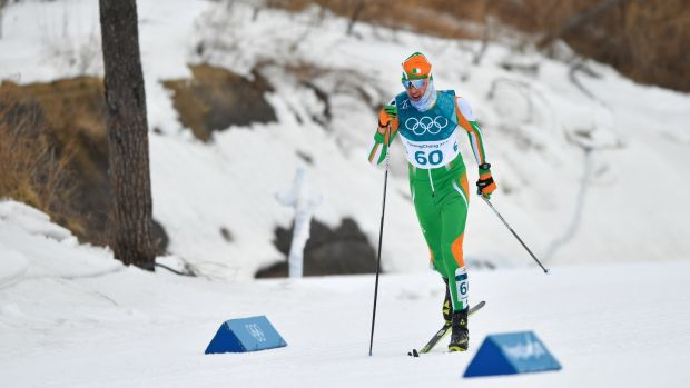 Thomas Westgaard finished 60th on his Winter Olymics debut. Photograph: Ramsey Cardy/Sportsfile