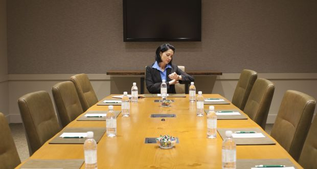 It is thought that at least 37m   meetings are held each day in the US alone, and up to 45%  of them probably start late