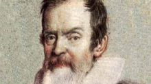 "Galileo: One of the ""giants"" upon whose shoulders Newton and others stood."