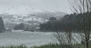 Glen of Aherlow covered in snow. Photograph: Catriona Molloy Reardon