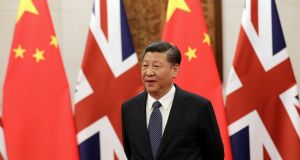 Chinese president Xi Jinping: Efforts to boost Chinese influence have received far less scrutiny than Russia's meddling in European politics. Photograph: Reuters/Wu Hong/Pool